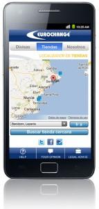 Eurochange App - Locator